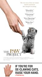 THE PAW PROJECT Documentary Now Available on Netflix