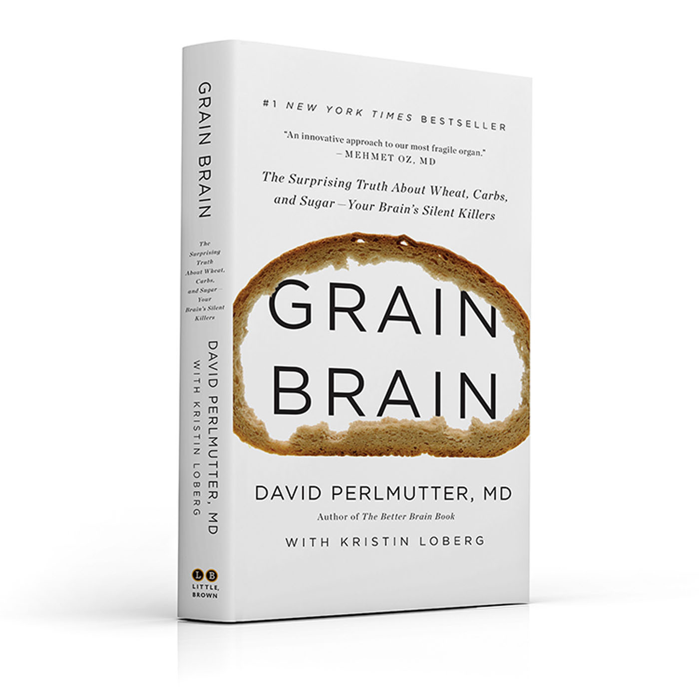 Dr. David Perlmutter's GRAIN BRAIN Hits #1 New York Times Bestseller