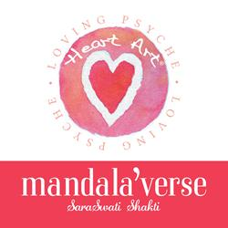 Heart Art mandala'verse by SaraSwati Shakti is Released