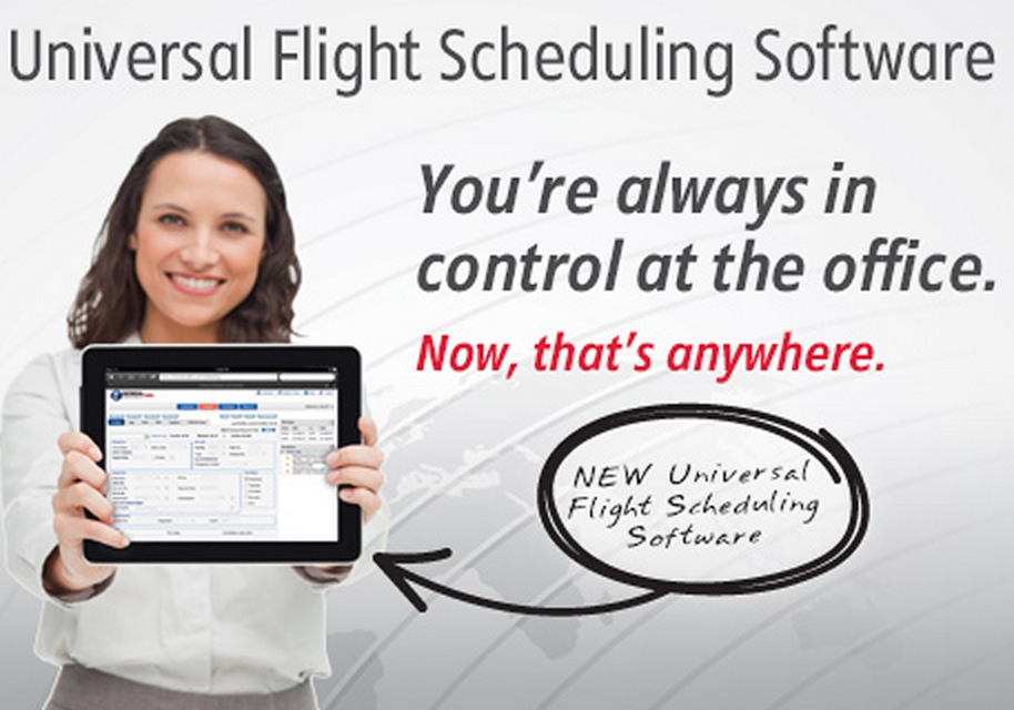 Universal Announces Flight Scheduling Software Solution