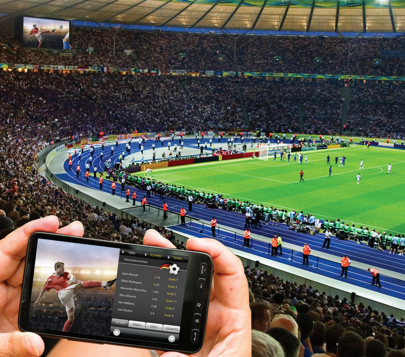 Cisco Unveils StadiumVision Mobile; Delivery of Live Video to Mobile Devices in Sports & Entertainment Arenas