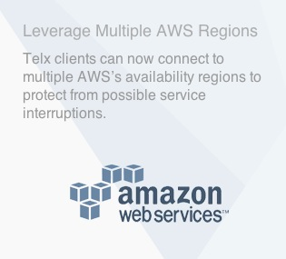 Amazon Web Services (AWS) Direct Connect Now Available to Telx Clients Nationally