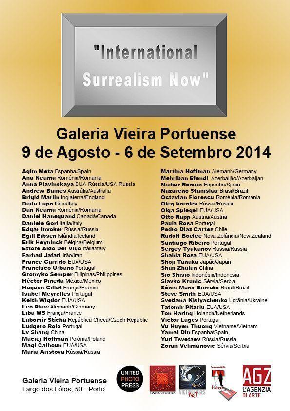 'International Surrealism Now' by Santiago Ribeiro Debuts at Gallery Vieira Portuense