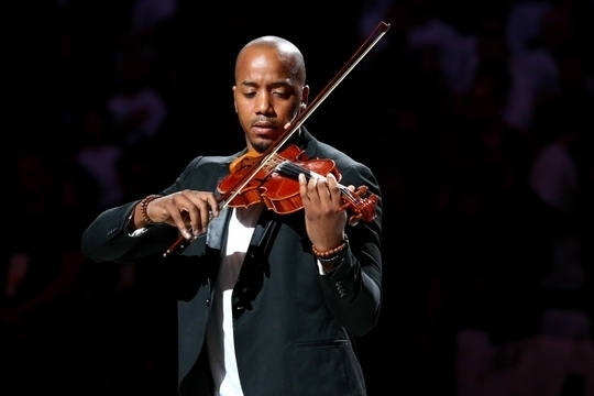 Violinist Damien Escobar's Debut Solo Single 'Freedom' Debuts at #15 On iTunes Charts