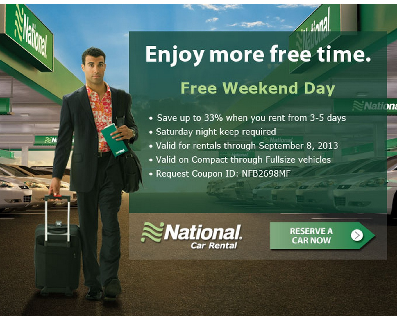 news national rental introduces emerald