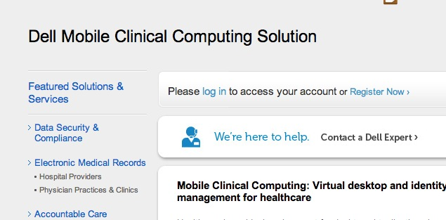 Dell's Mobile Clinical Computing Solution Provides Significant Savings While Enhancing Mobility and Security for Healthcare Providers