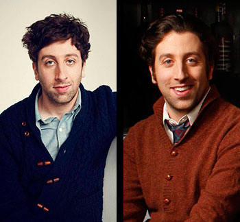 BIG BANG STARS Simon Helberg and Kunal Nayyar to Make Wizard World Debuts at Chicago Comic Con
