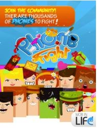 Phone Fight,  1st Ever 'Phone-Fighting Game', Launches for iOS