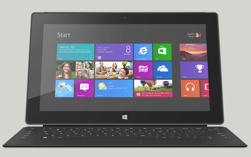 Microsoft Announces New Surface Windows 8 Pro - Available February 9, 2013