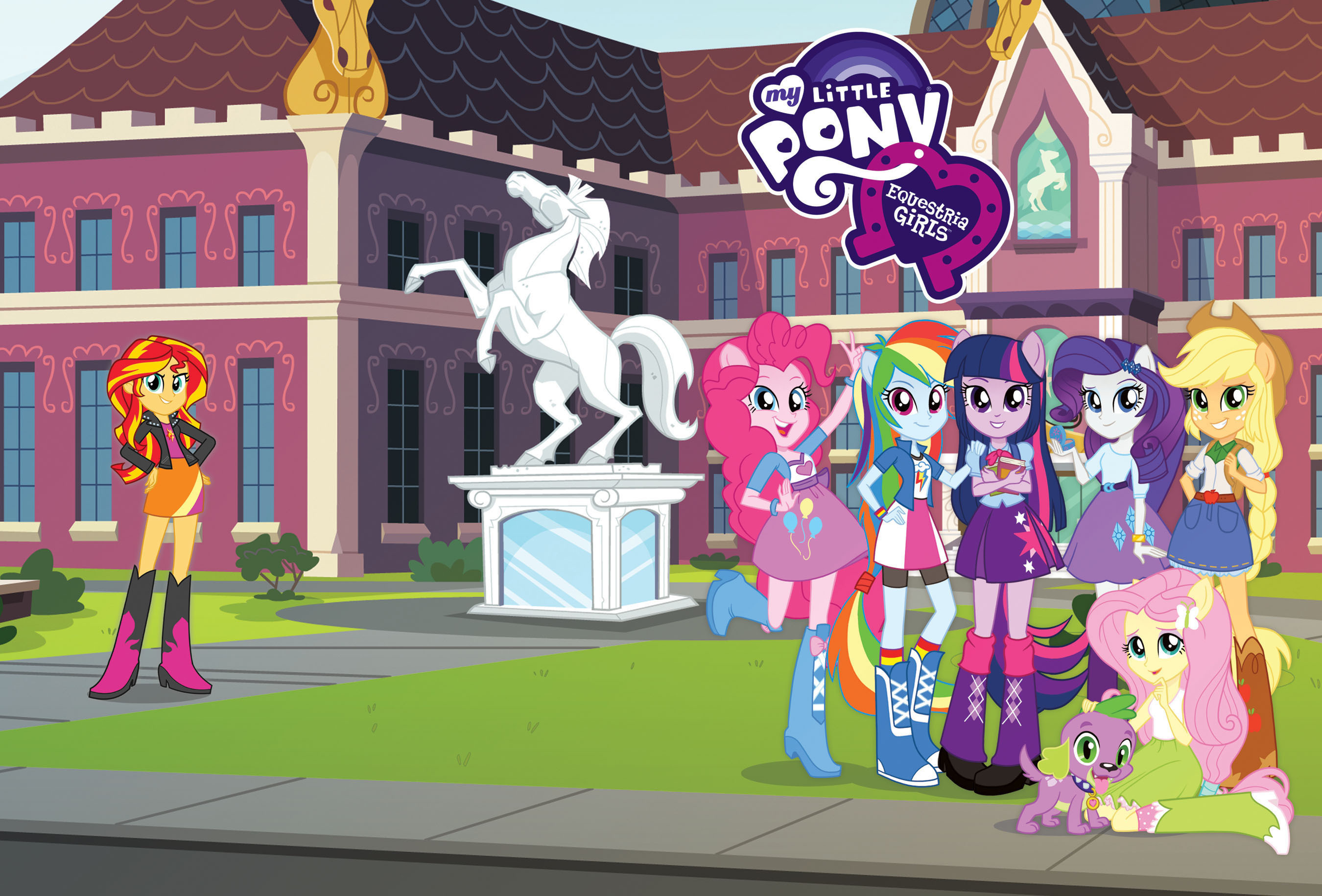 The Hub Premieres Hasbro's Feature Film 'My Little Pony Equestria Girls' Today