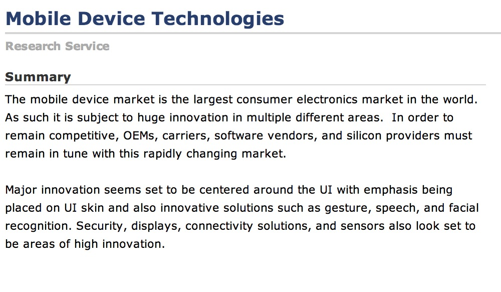 ABI Predicts Wearable Computing Devices, Like Apple's iWatch, Will Exceed 485 Million Annual Shipments by 2018