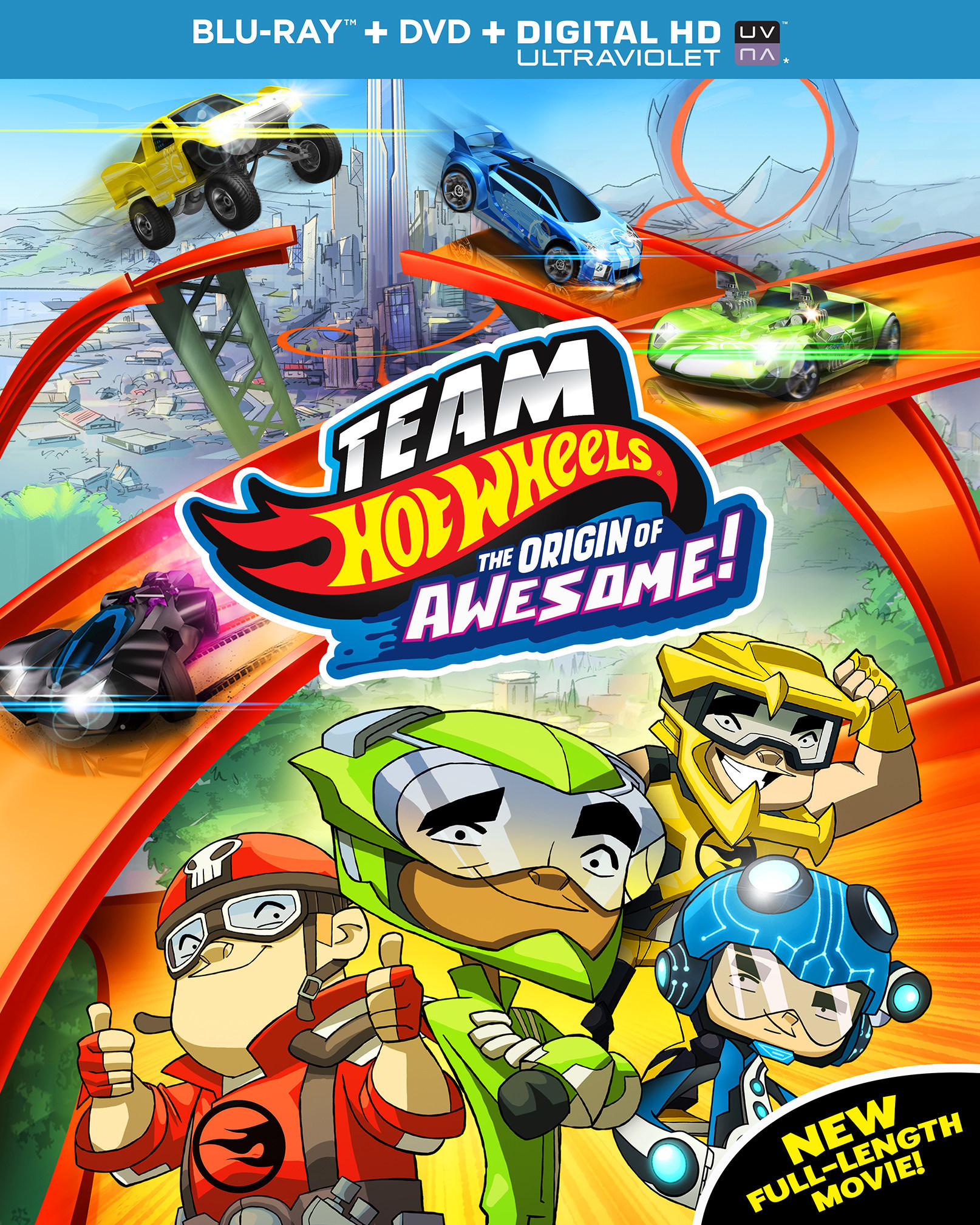 TEAM OT WHEELS: THE ORIGIN OF AWESOME Coming to DVD This September