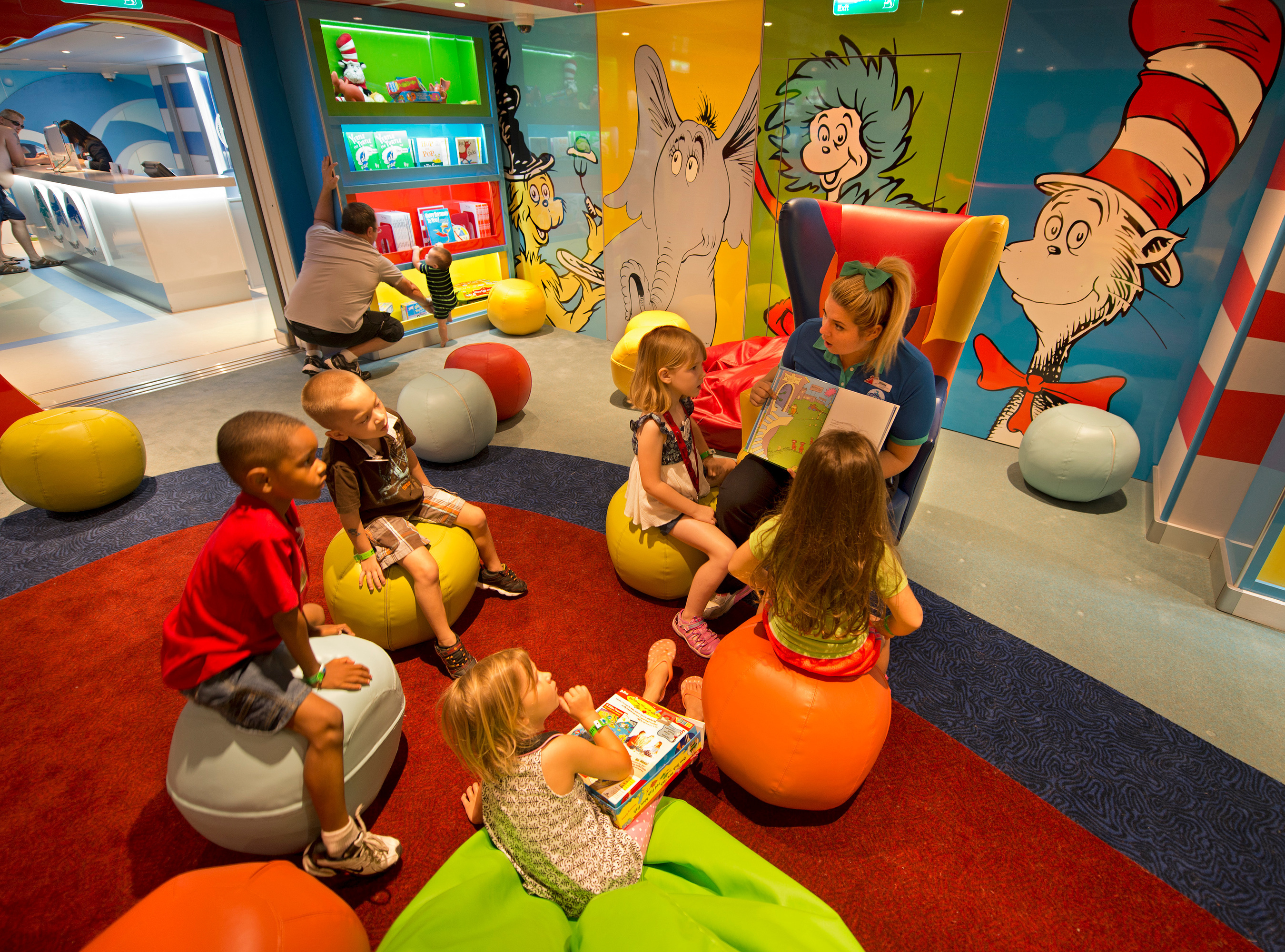 Dr. Seuss Bookville Reading Venue & Others to Be Added to Carnival's Family-Friendly Offerings