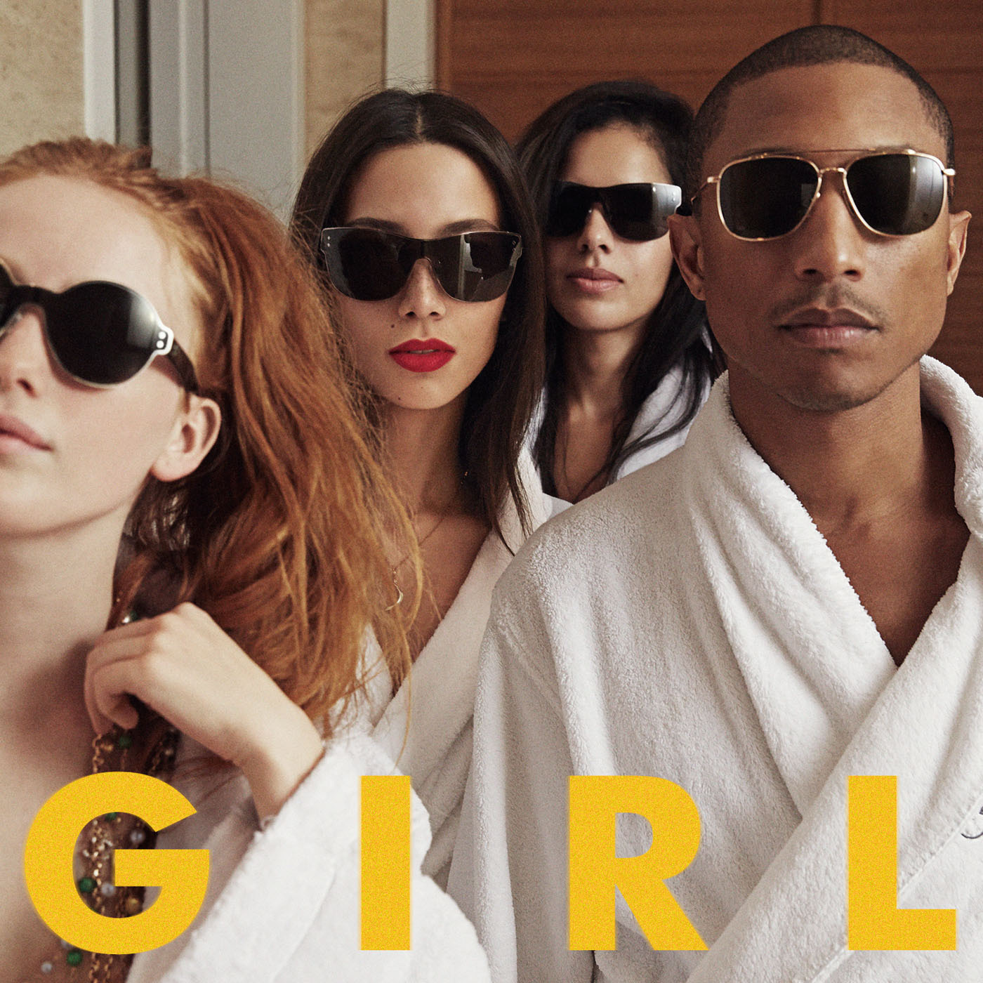 Pharrell Williams To Release New Album 'G 'I 'R 'L' on 3/3