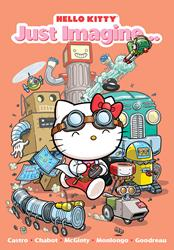 HELLO KITTY Shows Anything is Possible if One Just Imagines in Original Graphic Novel Release from Perfect Square
