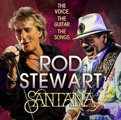 Rod Stewart and Santana Announce 2014 Summer Tour