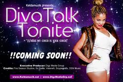 Recording Artist Keldamuzik to Launch New Talk Show DIVA TALK TONITE