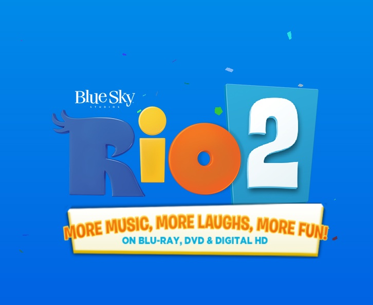 RIO 2 Tops Rentrak's DVD & Blu-ray Sales and Rentals for Week Ending 7/20