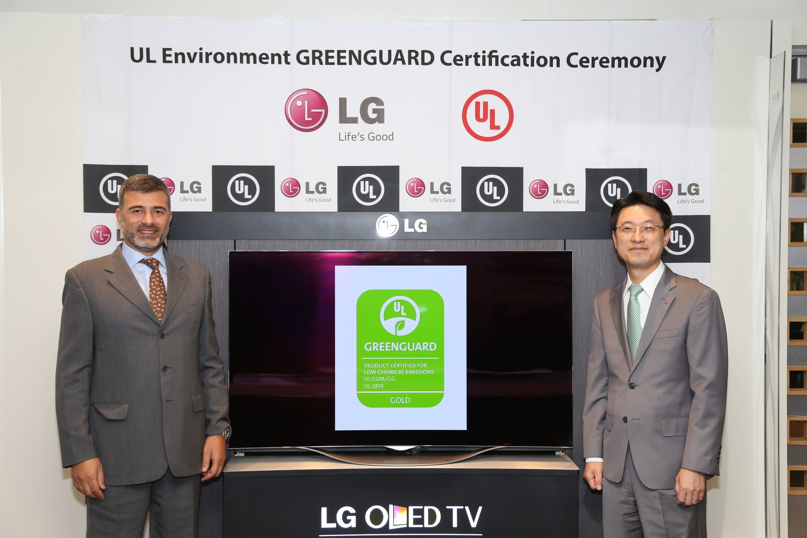 LG Electronics, UL Environment Announce First GREENGUARD Certified Television