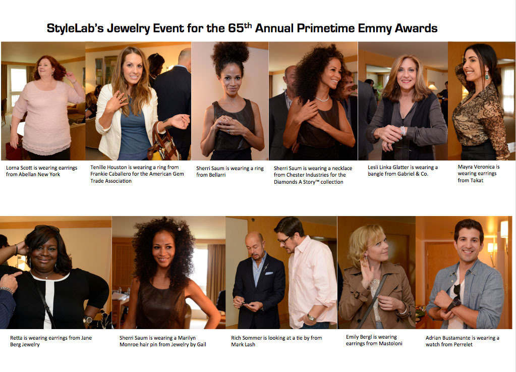 Celebrities Got Decked At StyleLab's Jewelry Event For The 65th Annual Emmy Awards
