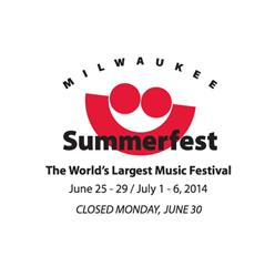 Summerfest Announces 2014 Grounds Stage Headliners