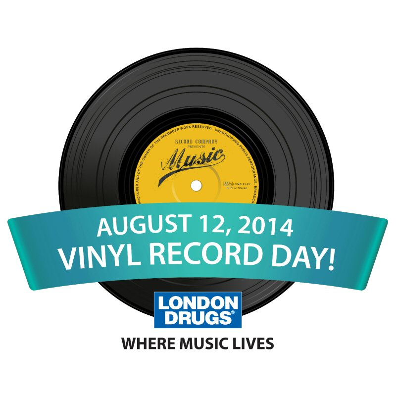 London Drugs Joins the Party for Vinyl Record Day