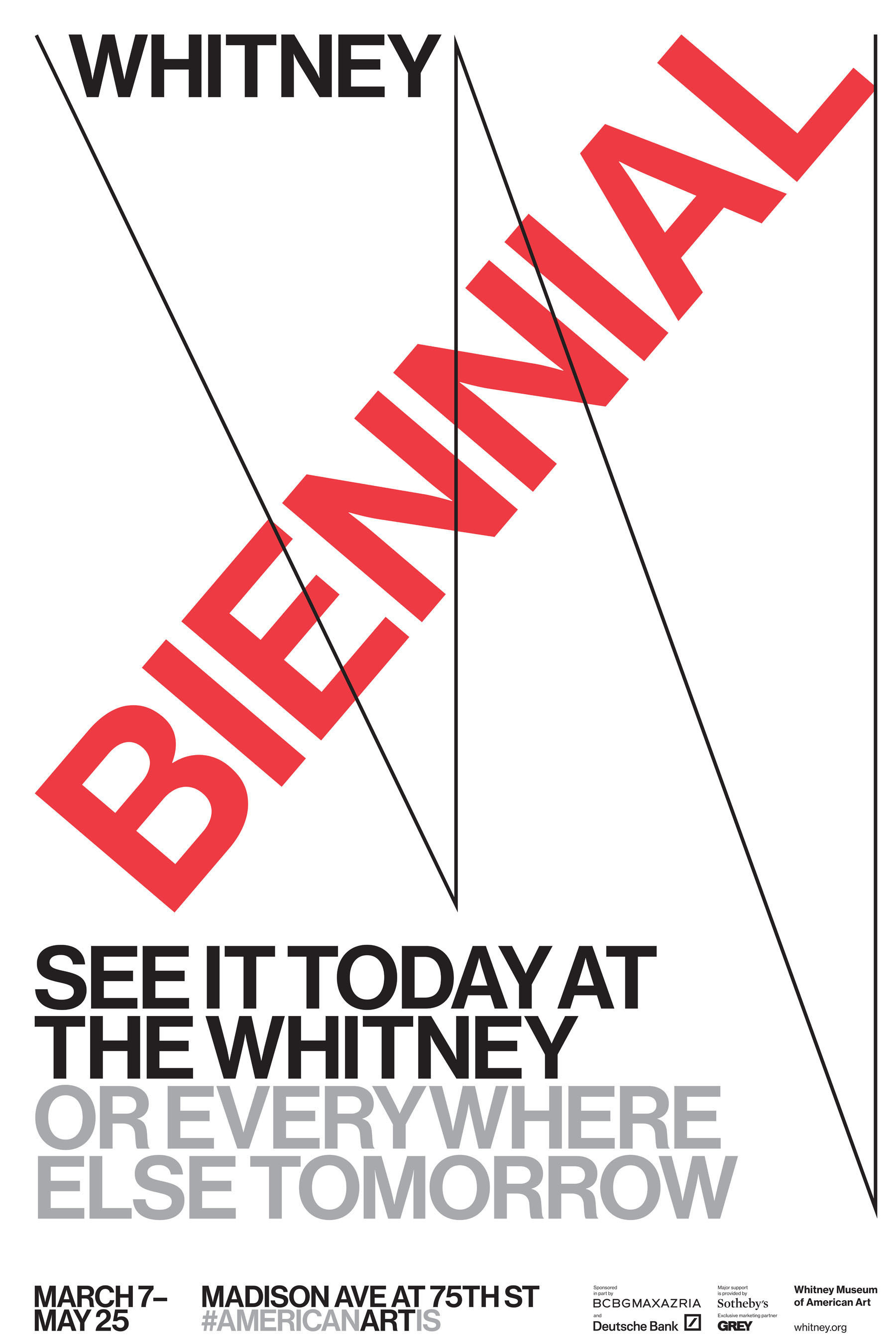 The Whitney Museum of American Art Selects Grey New York As Global Advertising Agency