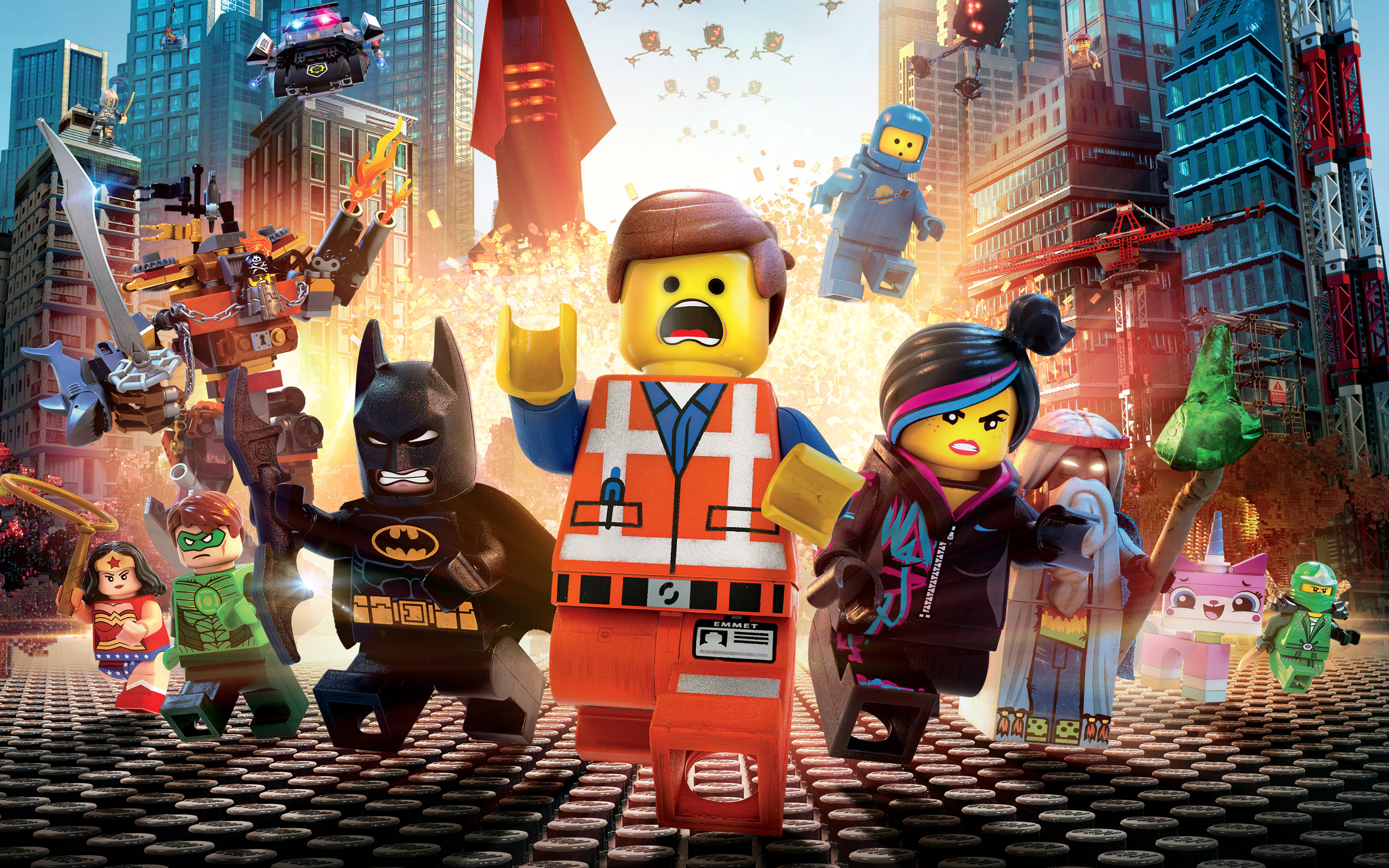 """""""The Lego Movie"""" Assembles More Than $200 Million in Global Box Office"""