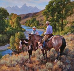 2013 Jackson Hole Fall Arts Festival Presents Cowboy Artist Jason Rich as Featured Artist