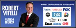 """Robert Vitelli Signs New Publishing Deal for """"How To Be A BIG Money Celebrity in YOUR Industry…Almost Overnight!"""""""