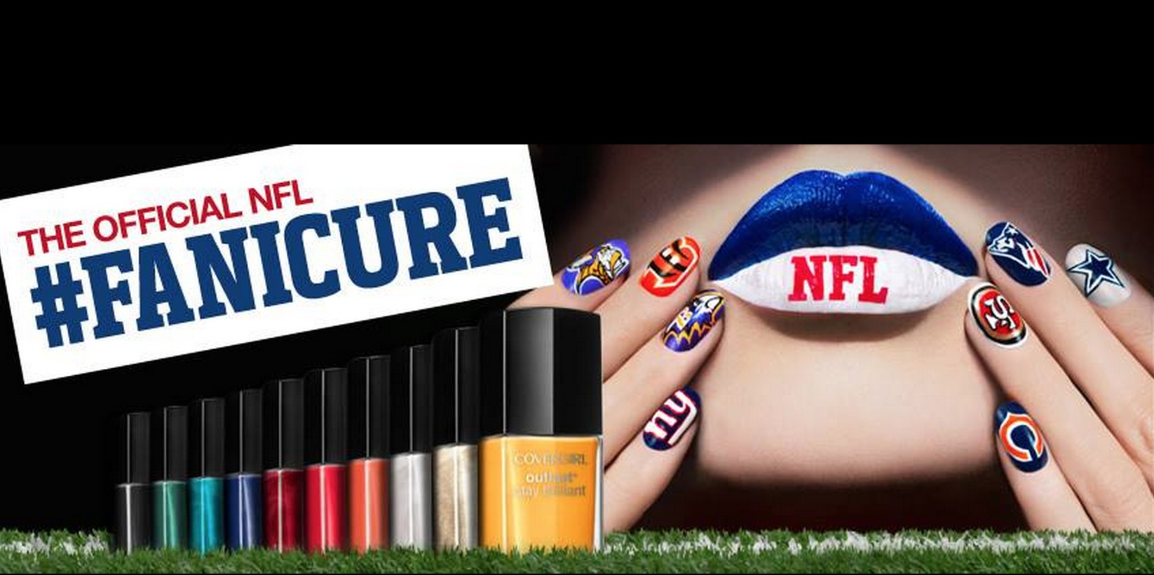 COVERGIRL Teams Up with NFL on Team-Inspired Nail Looks
