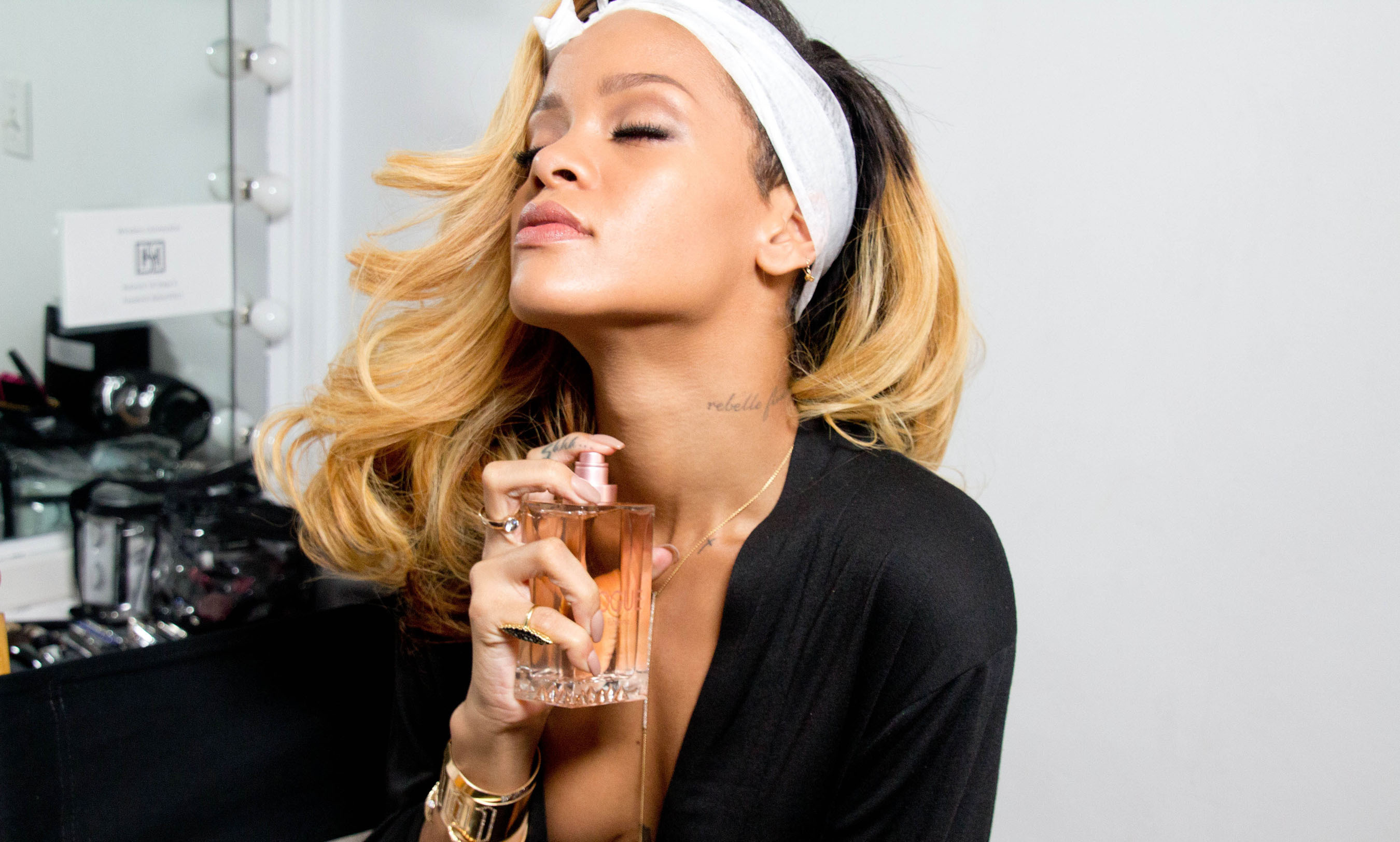 Rihanna Launches Latest Fragrance Rogue by Rihanna