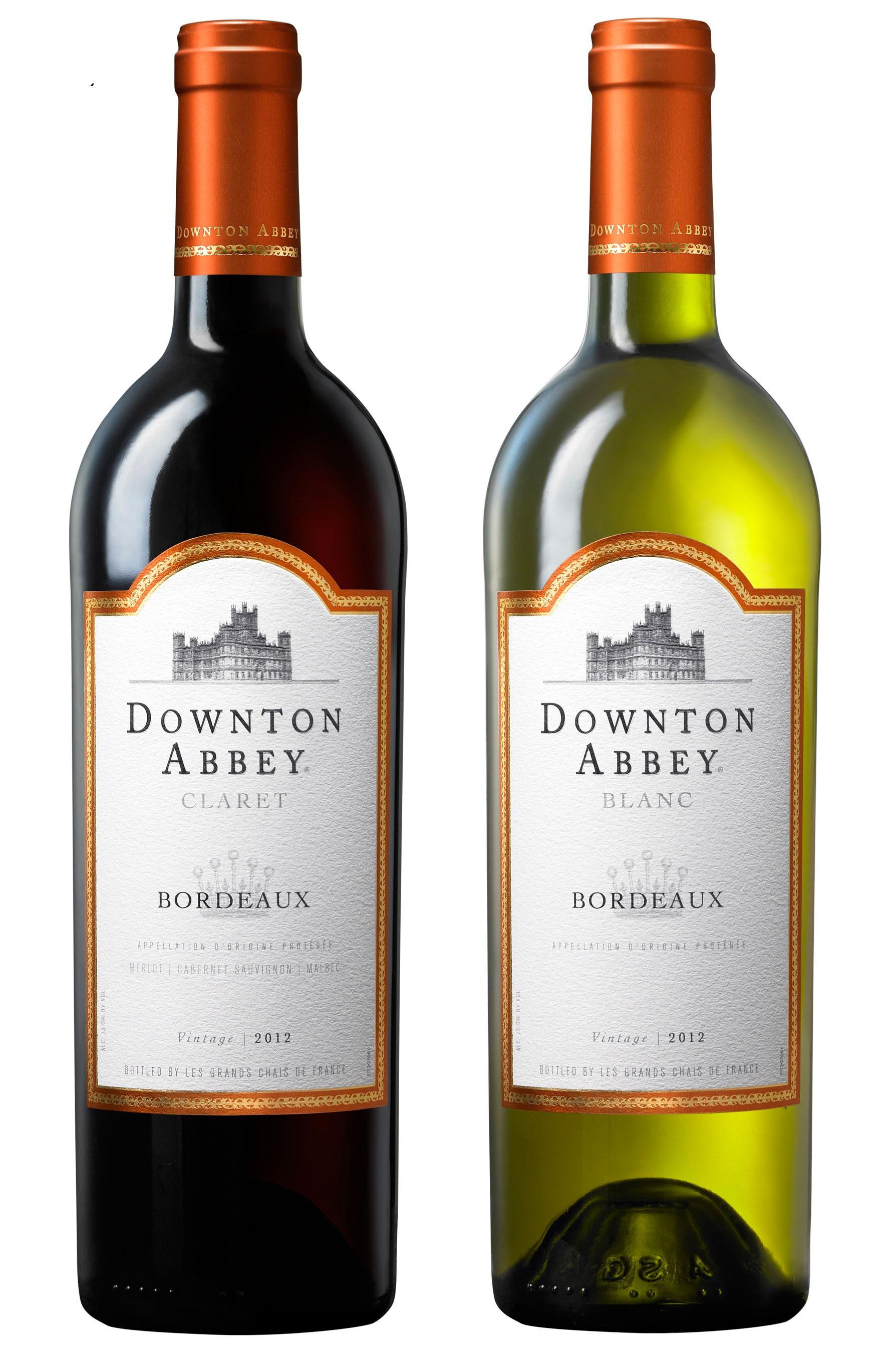 Downton Abbey Wines Launch Bordeaux Collection