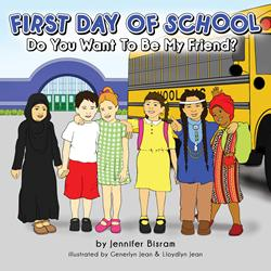 Local Television Reporter Jennifer Bisram, Announces Release of Children's Book- First Day of School: Do You Want to Be My Friend?