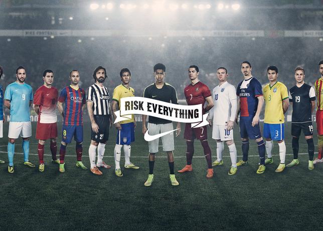 nike football risk everything