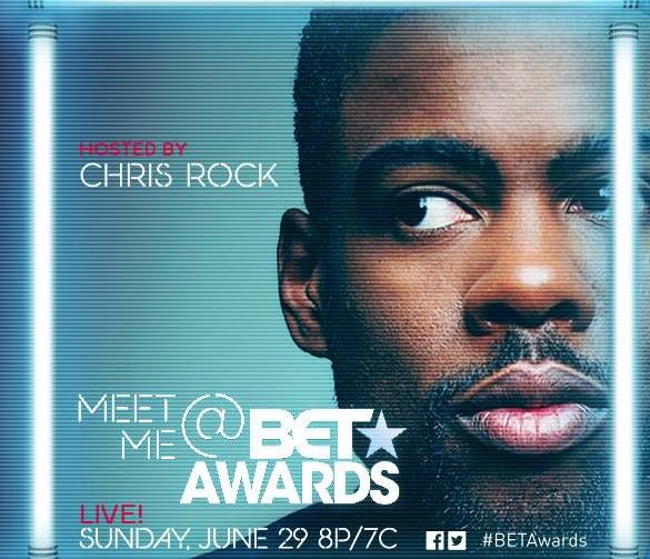 Emmy and Grammy Award Winner Chris Rock to Host 2014 BET AWARDS