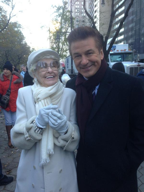 Twitter Watch: Alec Baldwin-'Shot with Elaine Stritch in Central Park Today'