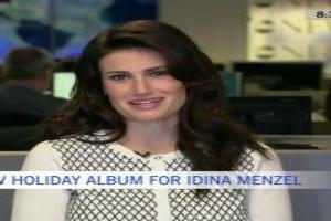 VIDEO: Idina Menzel Talks New Holiday Album, Return to Broadway & More