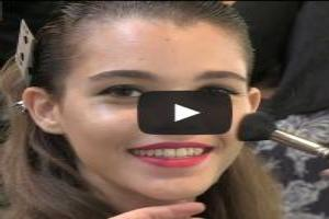 VIDEO: House of Holland Spring/Summer 2014 Hair & Makeup Trends | London Fashion Week