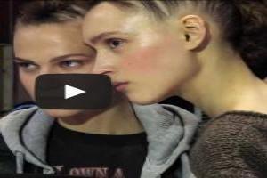 VIDEO: Simone Rocha Spring/Summer 2014 Hair & Makeup Trends | London Fashion Week