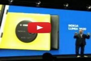 VIDEO: Nokia Unveils Lumia 1020 with 41-megapixel Camera