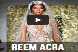 VIDEO: Reem Acra Bridal Fall 2015 Runway Show
