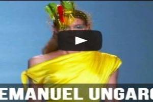 VIDEO: Emanuel Ungaro S/S 2015 FIRST LOOK at Paris Fashion Week