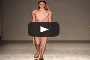 VIDEO: Angelos Bratis Spring/Summer 2014 | Milan Fashion Week