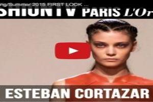 VIDEO: Esteban Cortazar Spring/Summer 2015 Paris Fashion Week
