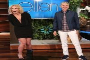 Video: Britney Spears Announces Vegas Show Extension on ELLEN!