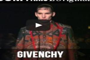 VIDEO: Givenchy Men Fall/Winter 2015-16 at Paris Men's Fashion Week