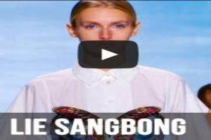 VIDEO: Lie Sang Bong S/S 2015 Runway Show At NYFW