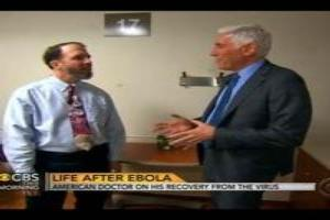 VIDEO: Ebola Survivor Dr. Richard Sacra Speaks with CBS THIS MORNING
