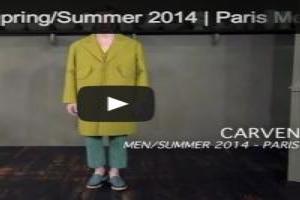 VIDEO: Carven Men Spring/Summer 2014 | Paris Men's Fashion Week
